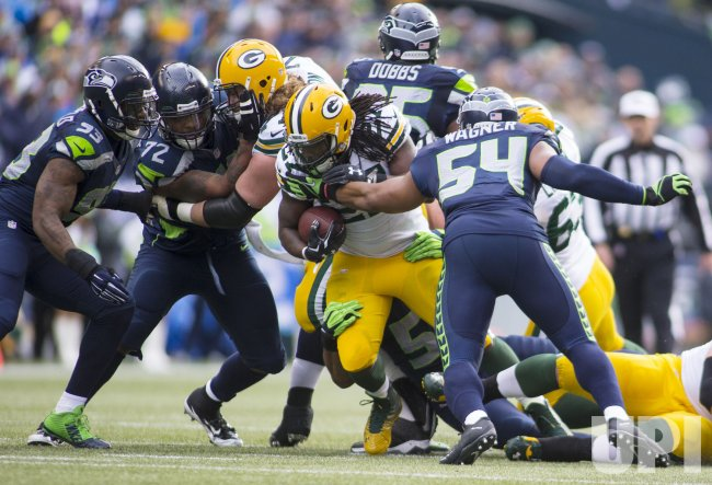 The Seattle Seahawks beat the Green Bay Packers in overtime 28-22 for the NFC Championship Seattle