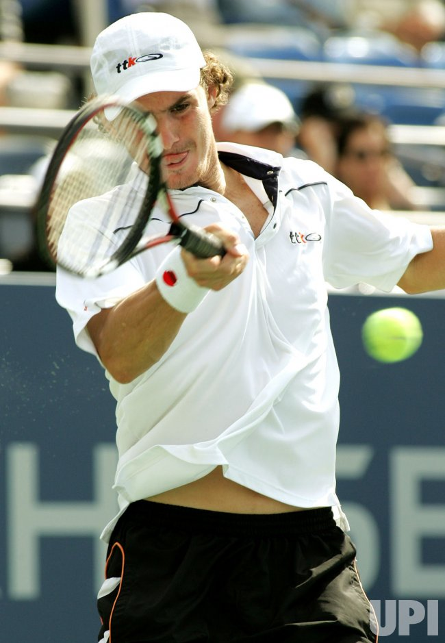 LLEYTON HEWITT VS JAN HERNYCH AT THE US OPEN