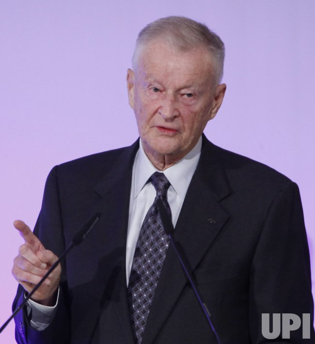 Dr. Zbigniew Brzezinski speaks at the Freedom Challenge Awards Dinner