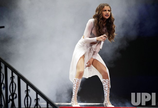 Selena Gomez at Barclays Center
