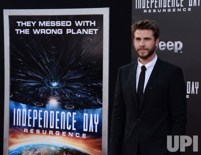 "Liam Hemsworth attends the ""Independence Day: Resurgence"" premiere in Los Angeles"