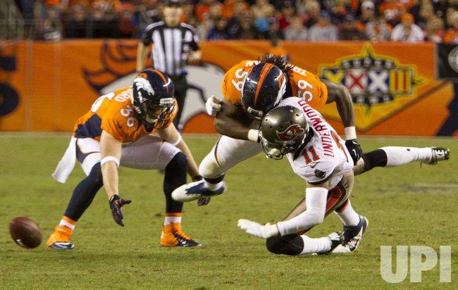 NFL Tampa Bay Buccaneers vs Denver Broncos in Denver