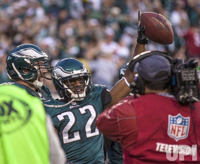 Washington Redskins-Philadellphia Eagles NFL football, Week 10