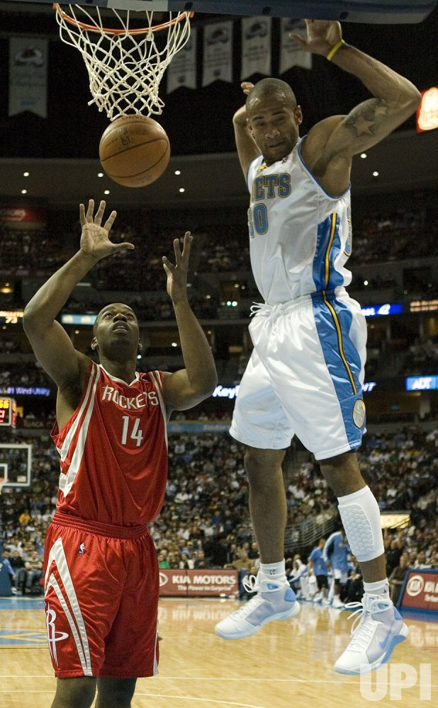 NBA Denver Nuggets host Houston Rockets