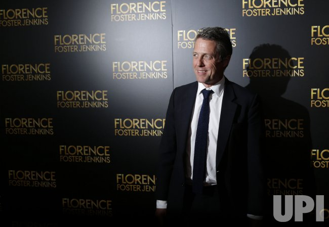 Hugh Grant at the Florence Foster Jenkins Premiere