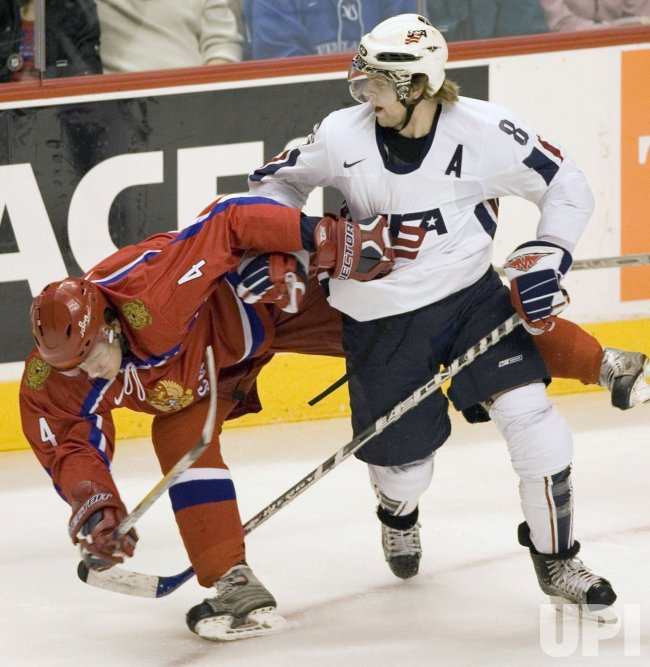 WORLD JUNIOR HOCKEY CHAMPIONSHIPS, USA VS RUSSIA