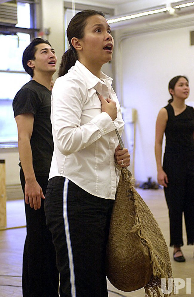 "Lea Salonga rehearses in new musical version of ""Flower Drum Song"""