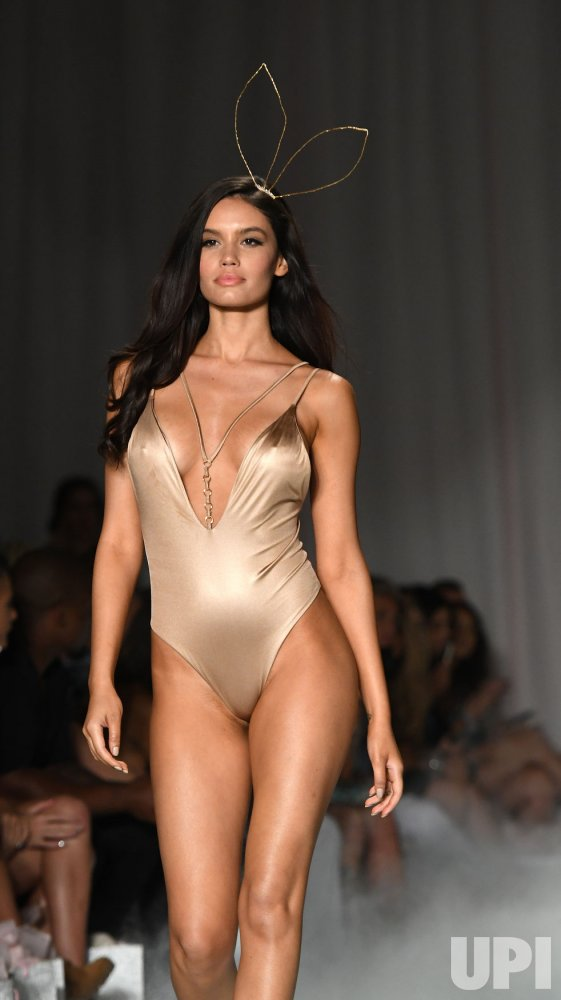 Designer Beach Bunny Shows New Swimsuit At Funkshion Miami Swim Week