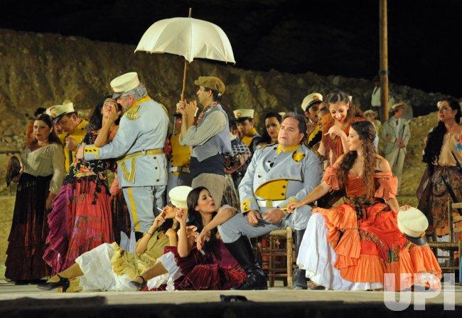 Israeli Opera Performs Carmen