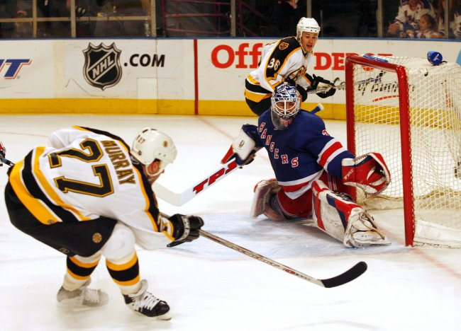 NEW YORK RANGERS VS BOSTON BRUINS