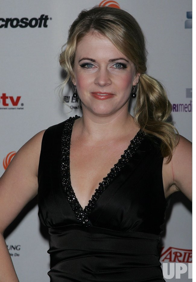 Melissa Joan Hart arrives for the 38th International Emmy Awards in New York