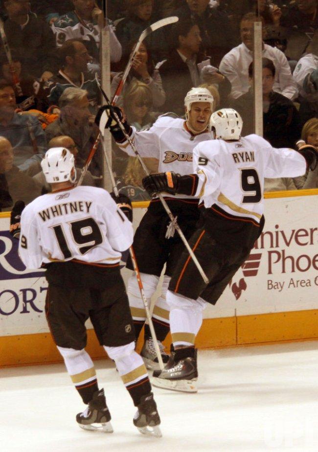 San Jose Sharks vs Anaheim Ducks