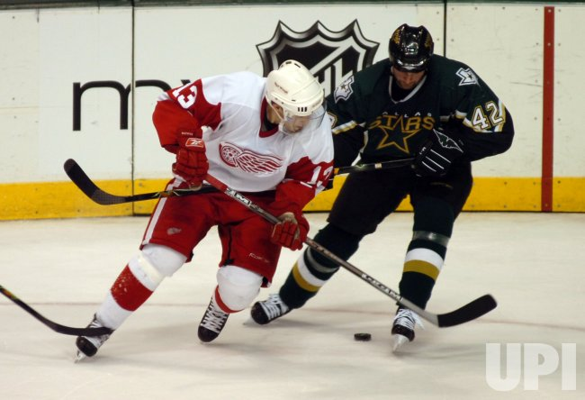 NHL-DALLAS STARS-DETROIT RED WINGS