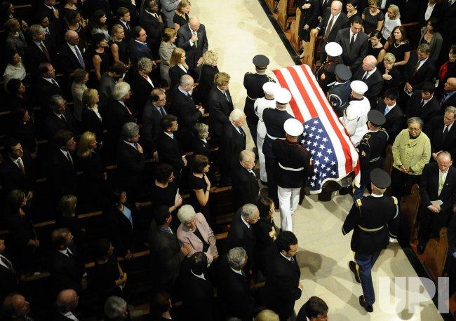 Senator Edward Kenedy Casket: Funeral For Senator Edward Kennedy In Boston