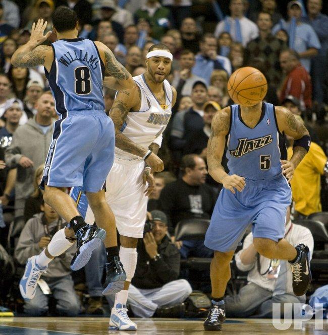 Denver Nuggets Host the Utah Jazz in Denver