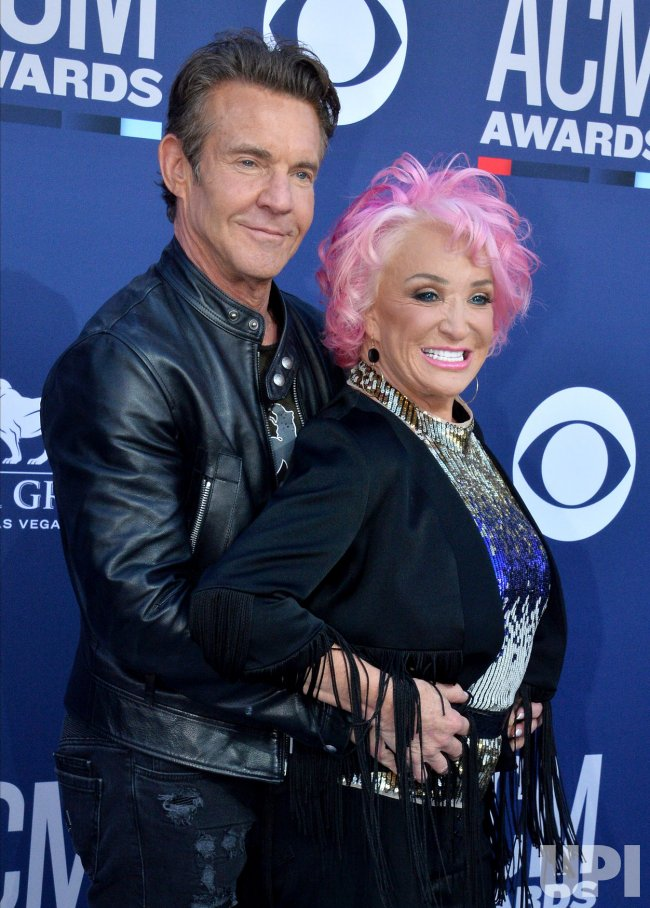 Tanya Tucker And Dennis Quaid Attend The Academy Of