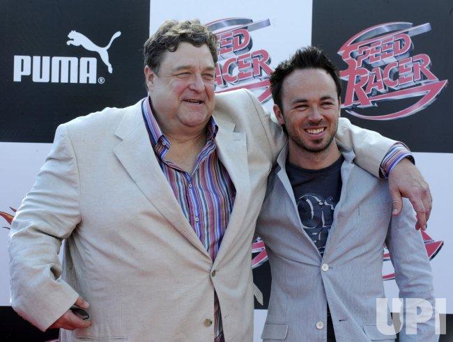"""""""Speed Racer"""" premieres in Los Angeles"""