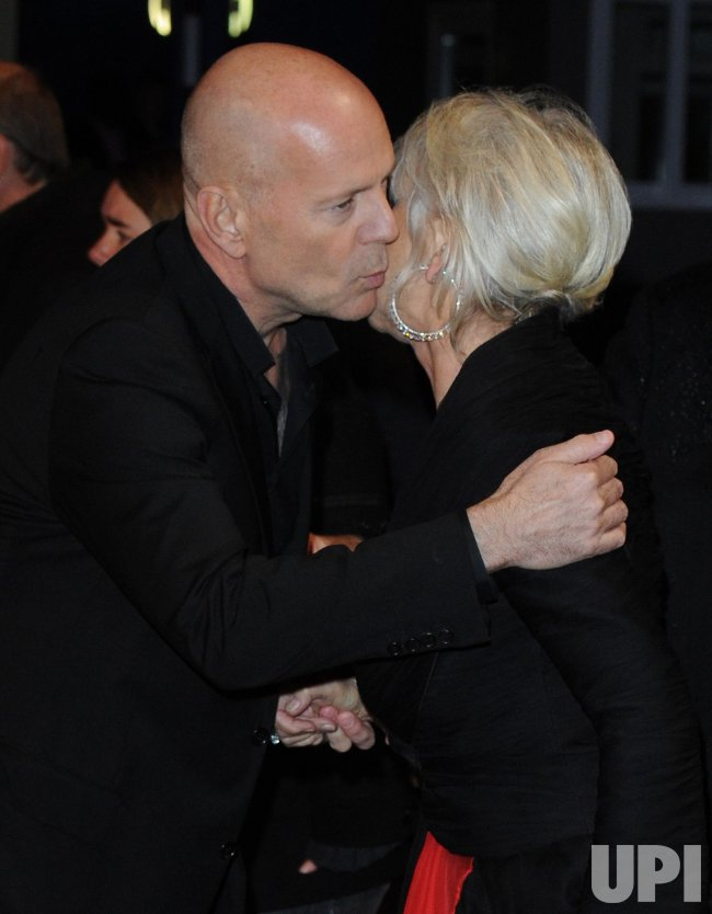 "Bruce Willis and Helen Mirren attend ""Red "" premiere in London"