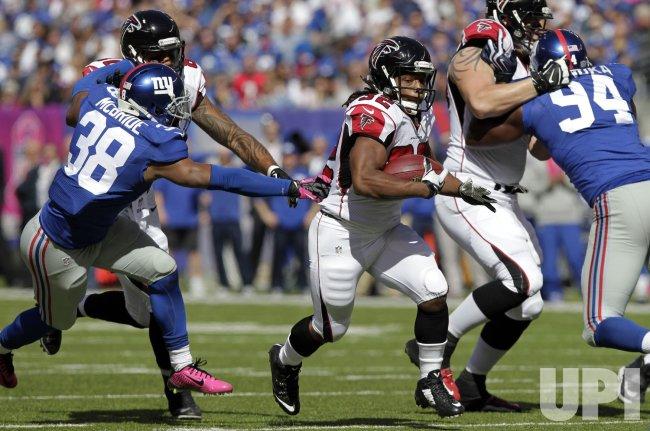 Atlanta Falcons vs. New York Giants