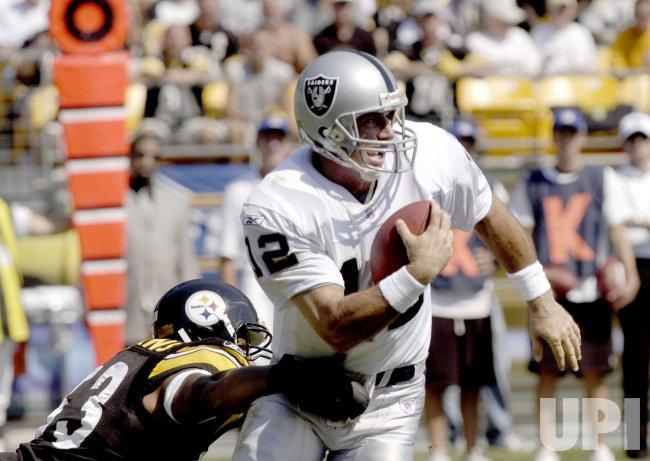 Steelers verus Raiders
