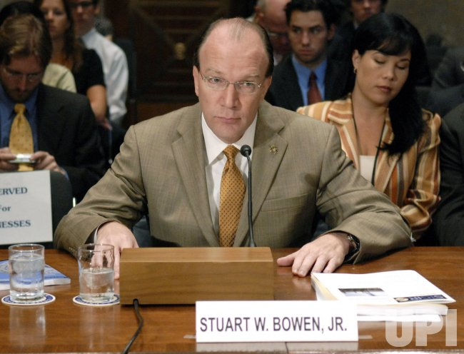 SPECIAL INSPECTOR GENERAL FOR IRAQ RECONSTRUCTION STUART BOWEN