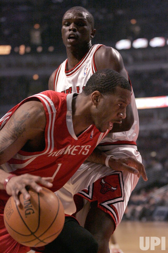 NBA HOUSTON ROCKETS VS CHICAGO BULLS