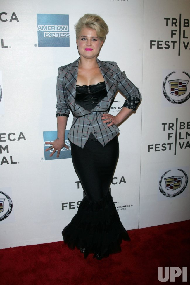 "Kelly Osbourne arrives for the Tribeca Film Festival Premiere of ""God Bless Ozzy Osbourne"" in New York"