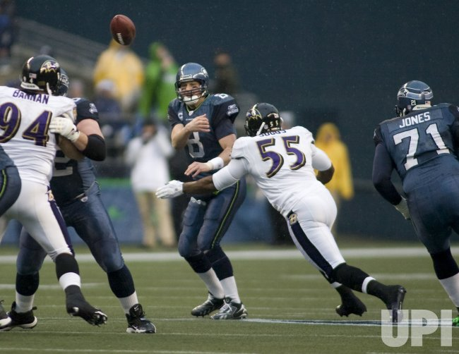 Baltimore Ravens vs Seattle Seahawks