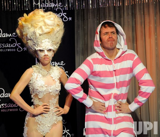 Lady Gaga wax figure unveiled at Madame Tussauds in Los Angeles