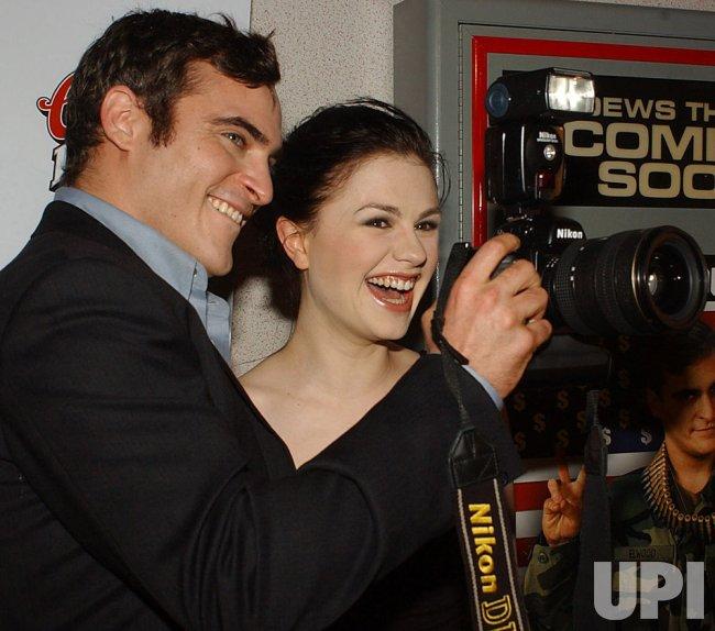 """Buffalo Soldiers"" film premiere starring Joaquin Phoenix"