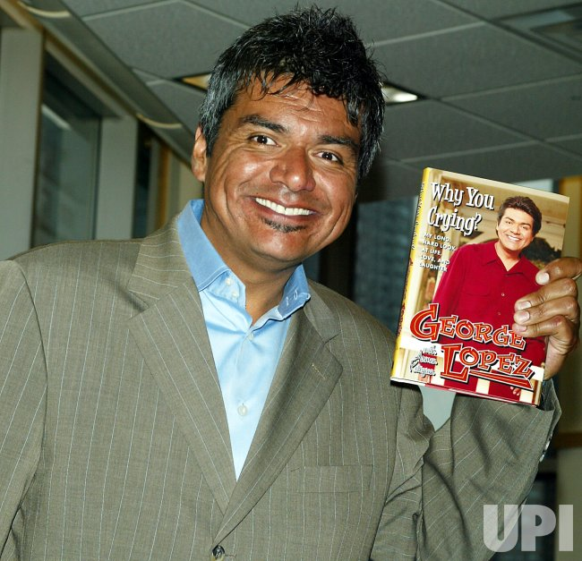 GEORGE LOPEZ BOOKSIGNING