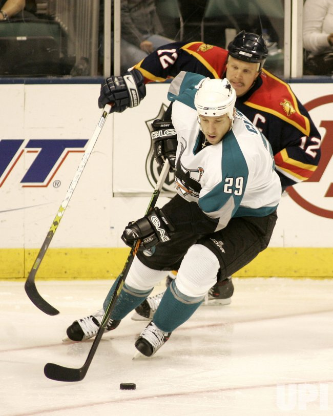 FLORIDA PANTHERS VS SAN JOSE SHARKS