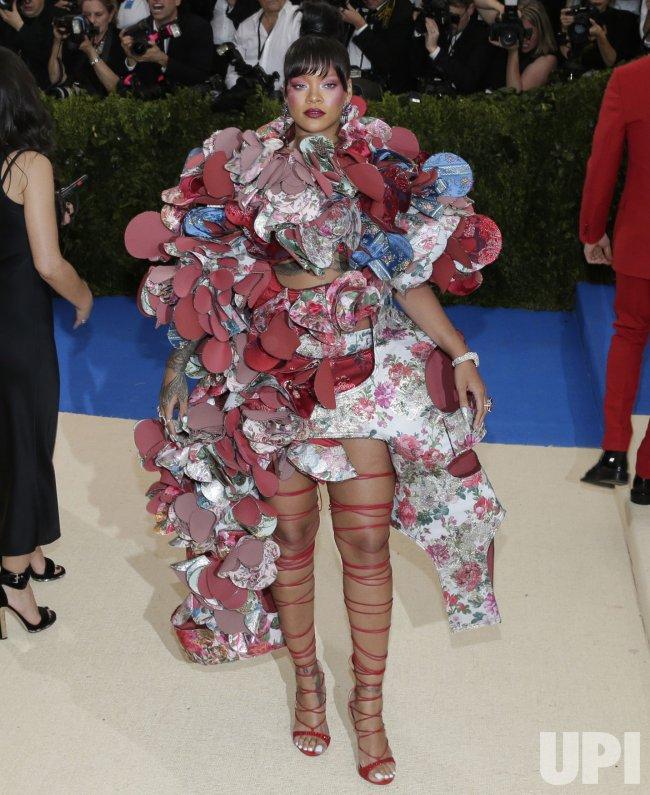 Rihanna at the Met Costume Institute Benefit