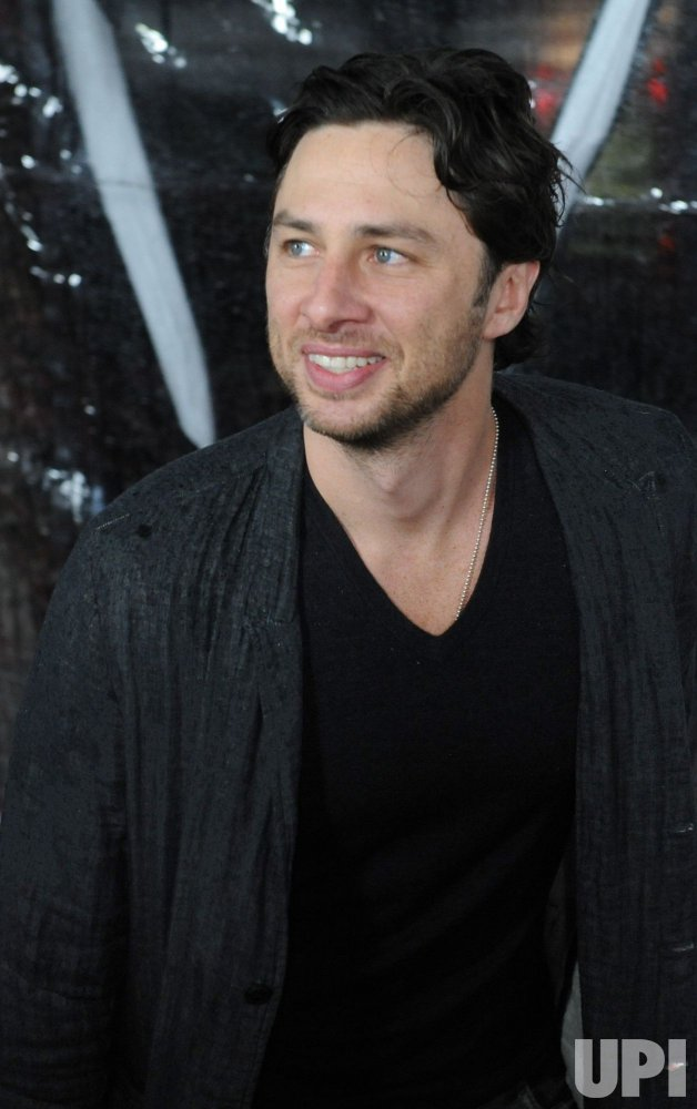 "Zach Braff attends the ""Conviction"" premiere in Beverly Hills"