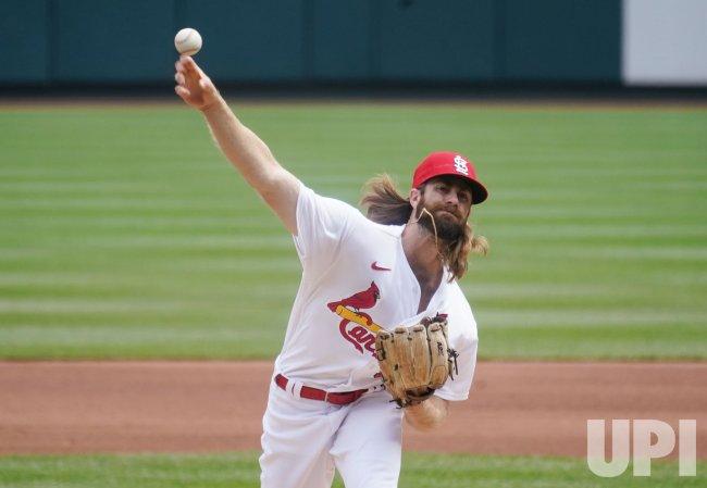 St. Louis Cardinals Starting Pitcher John Gant