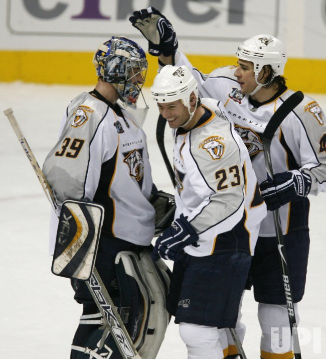 Nashville Predators vs Colorado Avalanche