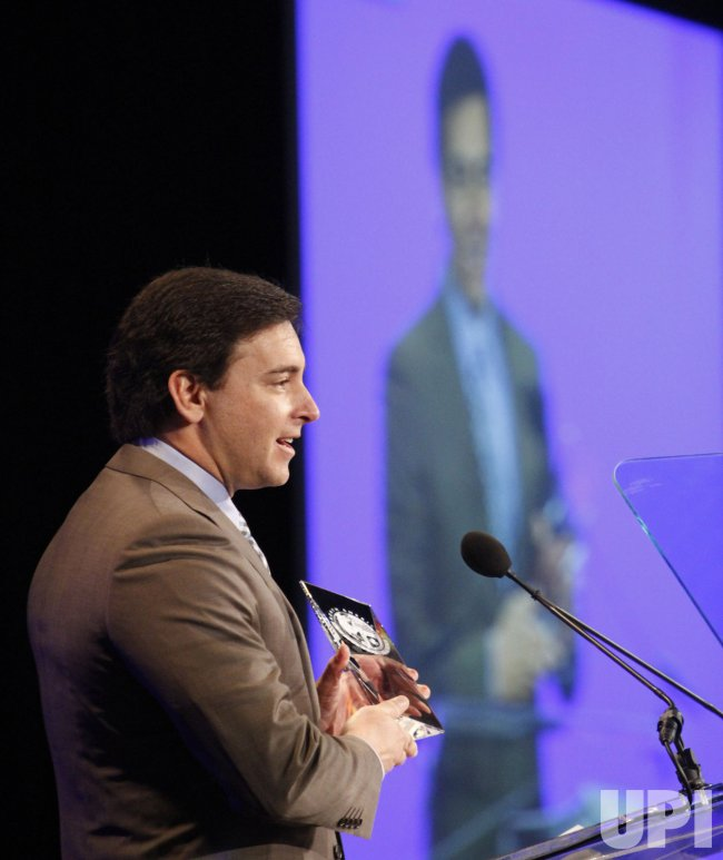 Mark Fields speaks at the 2010 NAIAS in Detroit, Michigan
