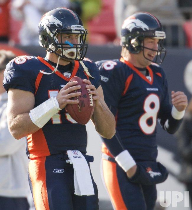 Broncos Tebow Starts Over Orton in Denver