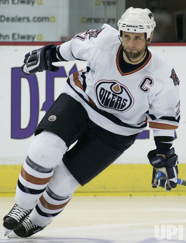 NHL EDMONTON OILERS VS COLORADO AVALANCHE
