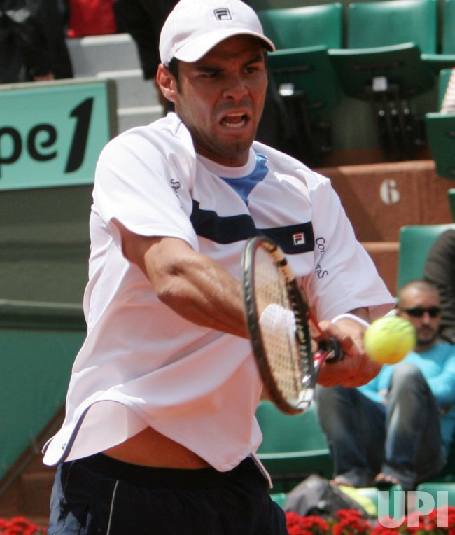 FRENCH OPEN TENNIS AT ROLAND GARROS