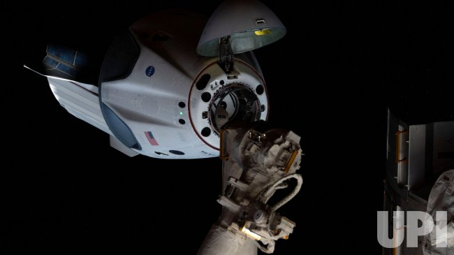 NASA and SpaceX Crew Demo-2 Mission Docks with ISS