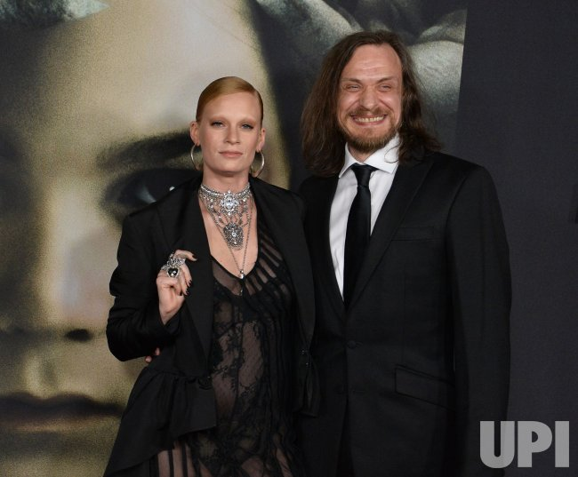 """Denna Thomsen and Niall Greig Fulton attend """"The Turning """" premiere in Los Angeles."""