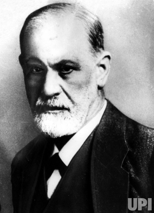 Sigmund Freud is seen here in this undated photo.