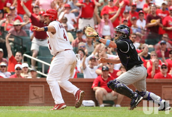 COLORADO ROCKIES VS ST. LOUIS CARDINALS BASEBALL
