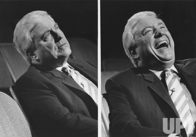 Merv Griffin tapes his last show