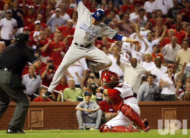 KANSAS CITY ROYALS VS ST. LOUIS CARDINALS BASEBALL