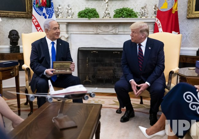 President Trump meets with Israeli Prime Minister Netanyahu at the White House