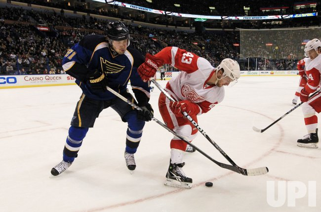 Detroit Red Wings vs St. Louis Blues