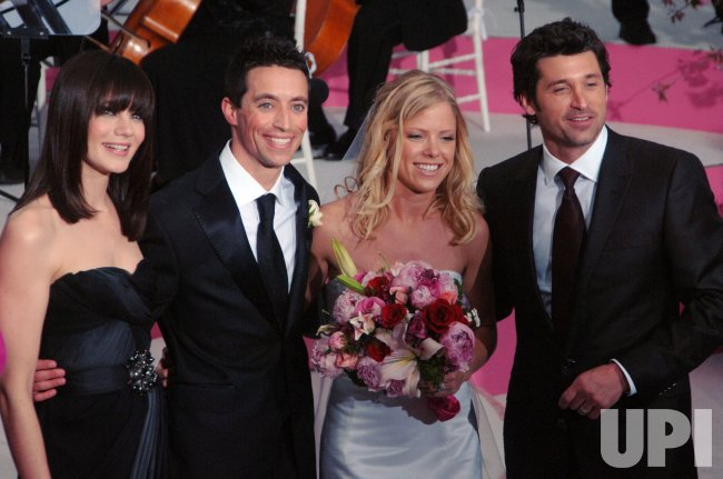 """Patrick Dempsey attends premiere for his film """"Made of Honor"""" in New York"""
