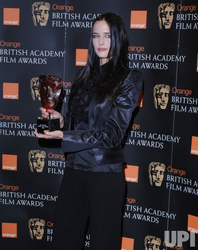 "Eva Green presents the nominations for BAFTA's ""Rising Star"" award in London"